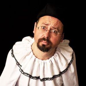 Giacinto Palmieri costumed