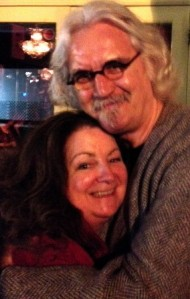 Billy Connolly with Janey Godley
