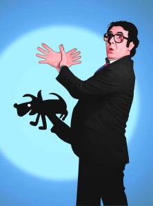 The bare image promoting the Malcolm Hardee Comedy Awards