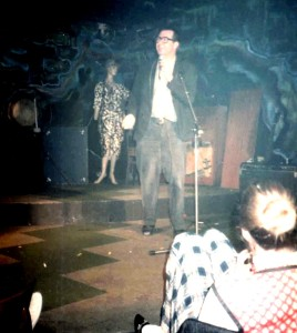 Malcolm Hardee at The Tunnel Club