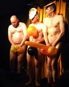 The Greatest Show on Legs' balloon dance