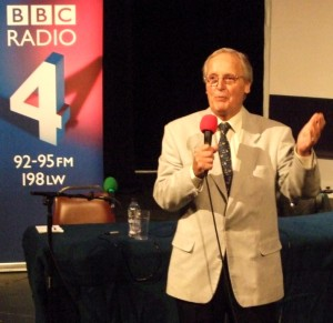 Nicholas Parsons? Hold on a minute!