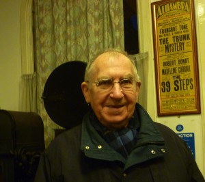 Ronald Grant at the Cinema Museum yesterday
