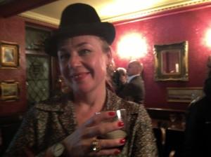 Sophie Parkin at the Sohemian Society last night