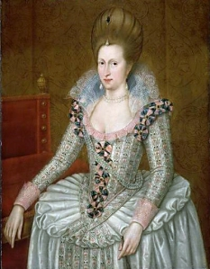 Anne of Denmark, wife of James VI & I