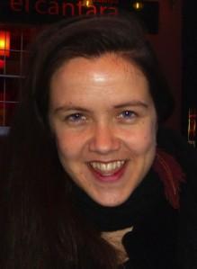 Grace Gelder in Soho yesterday