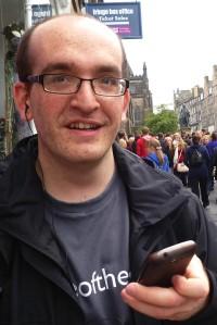 Hayden Cohen at the Edinburgh Fringe last year