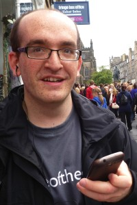 Hayden Cohen at the Edinburgh Fringe last year