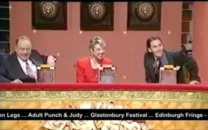 Pull The Plug judges Ned Sherrin, Liz Kershaw and Jools Holland