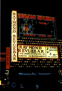 The Raymond Revuebar in its heyday
