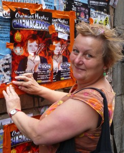 Charmian Hughes at last year's Edinburgh Fringe