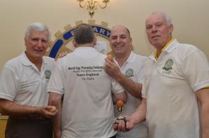 England egg team - Bell, Dunop, Bath and Leech