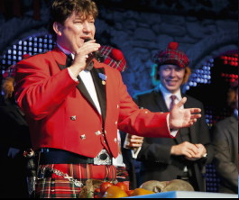 Stuart McKenzie at the 2012 Burns Night