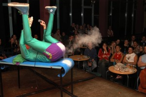 Mr Methane is not himself a stand-up performer