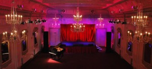 Bush Hall - OTT scene of last night's Great Sexpectations