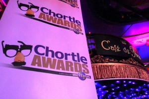The Chortle Awards at the Cafe de Paris, London