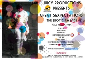 A ticket for the Great Sexpectations event
