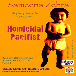 Sameena's new 2013 comedy show
