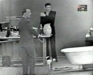 John Cage (right) on I've Got a Secret in 1960