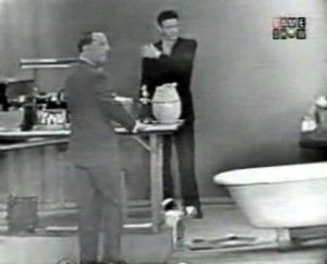 John Cage (right) on I've Got a Secret in 1960