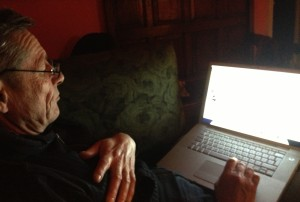 Martin Soan trawling the internet for John Cage