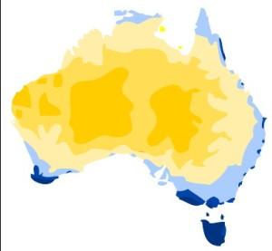 Australia - a big desert with bits round the edge
