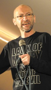 Alex at the Hradec Festival, 2010