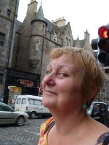 Charmian in Edinburgh last year