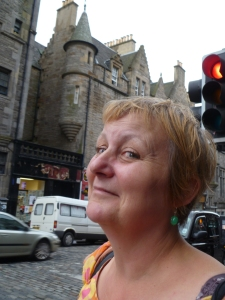 Charmian in Edinburgh last year