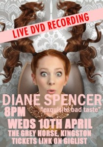 Diane Spencer's DVD recording next week
