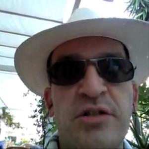 Conspiratorial comedian Hayden Cohen in Tenerife this week