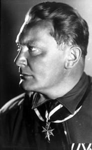 Hermann Goering, leader of the Nazi Luftwaffe