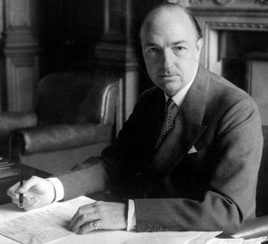 John Profumo, the UK's Minister for War