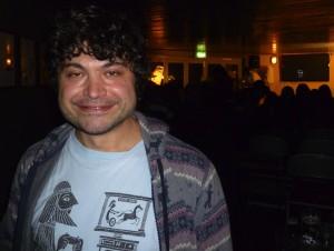Sean Brightman at the Sanderson Jones gig