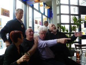 Partial Tiswas reunion in Birmingham yesterday