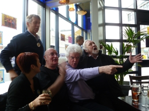 Partial Tiswas reunion in Birmingham yesterday