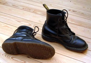 Boots: a frequent weapon in Glasgow