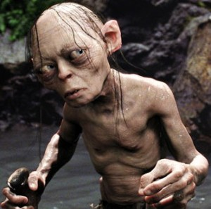 Gollum honestly does not live in the Silver Vaults in London