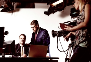 Hal Cruttendon & Phill Jupitus in Making News