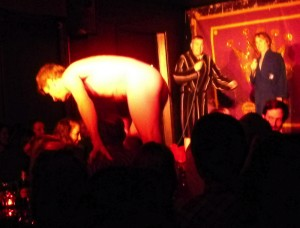 Audience participation Greatest Show On Legs style last night