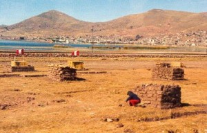 Children living alone in their 'homes' outside Puno, Peru, 1983
