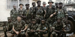 Members of the Sierra Leone Army during the war