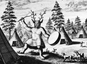 A Siberian shaman, circa 1692