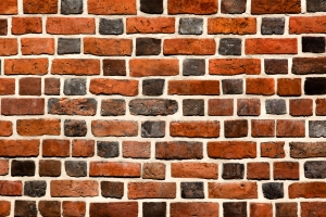 A brick wall - or it could be anything you want