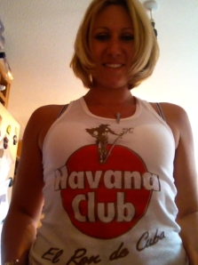 Charlotte Rose & T-shirt on Skype yesterday