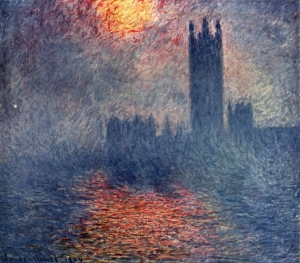 Claude Monet's view of London at the turn of the 20th century
