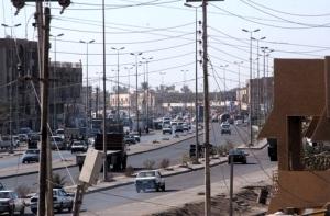 Downtown Fallujah, Iraq, 2003 - better than East Glasgow