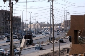 Downtown Fallujah, Iraq, 2003 - better than East Glasgow