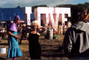 The Glastonbury Festival in 2003