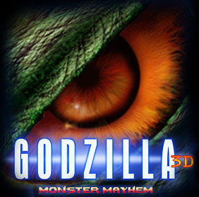Godzilla 3D - coming to you in 2014